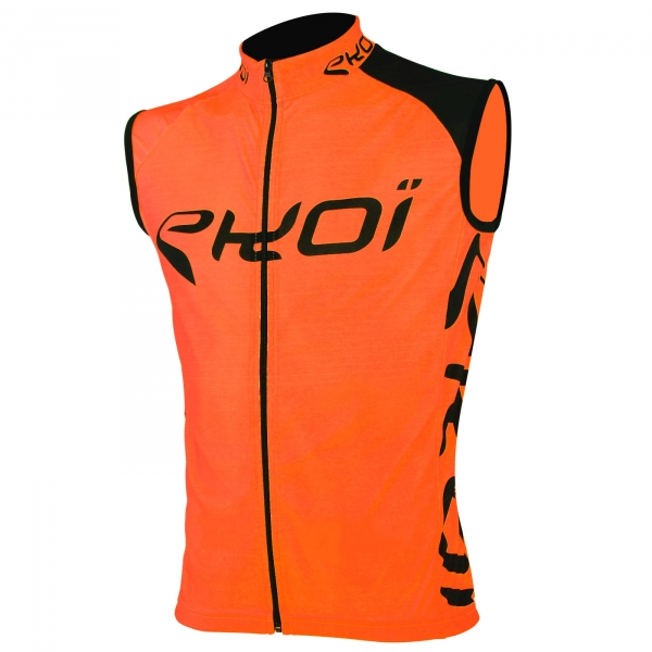 Gilet sans manches EKOI SICUREZZA Fluo orange