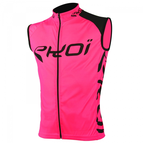 Gilet sans manches EKOI SICUREZZA Fluo rose