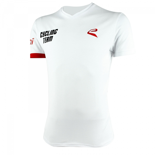 Camiseta EKOI Cycling Team 2016 Blanco