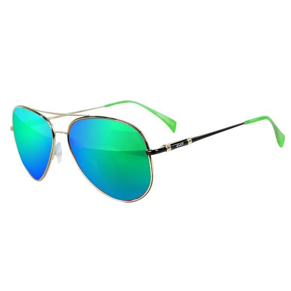 Okulary EKOI Dopogara Revo zielone