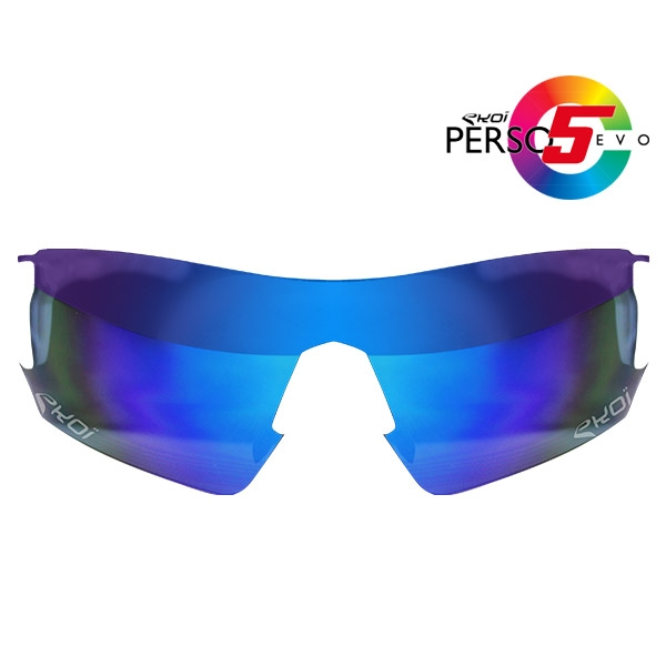 Verre PERSOEVO5 Revo bleu Cat3