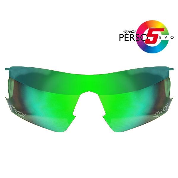 Verre PERSOEVO5 Revo vert Cat3