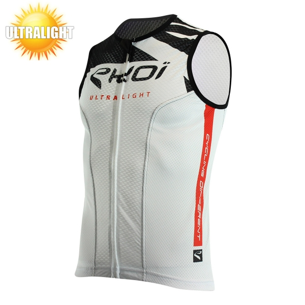 EKOI ULTRALIGHT 2 white short sleeve cycling jersey