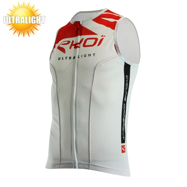 EKOI ULTRALIGHT 2 red sleeveless cycling jersey