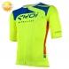 Maillot vélo manches courtes EKOI ULTRALIGHT New Style jaune