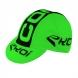 Casquette course vélo EKOI COMP8 2016 vert fluo