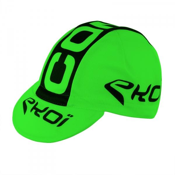 EKOI COMP8 2016 green fluo (under helmet) race cap