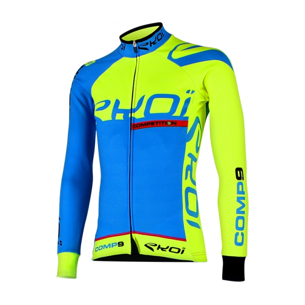 EKOI Competition9 blue LS winter jersey