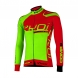 Winter jersey EKOI Competition9 Neon Green