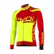 Winter jersey EKOI Competition9 Neon Yellow