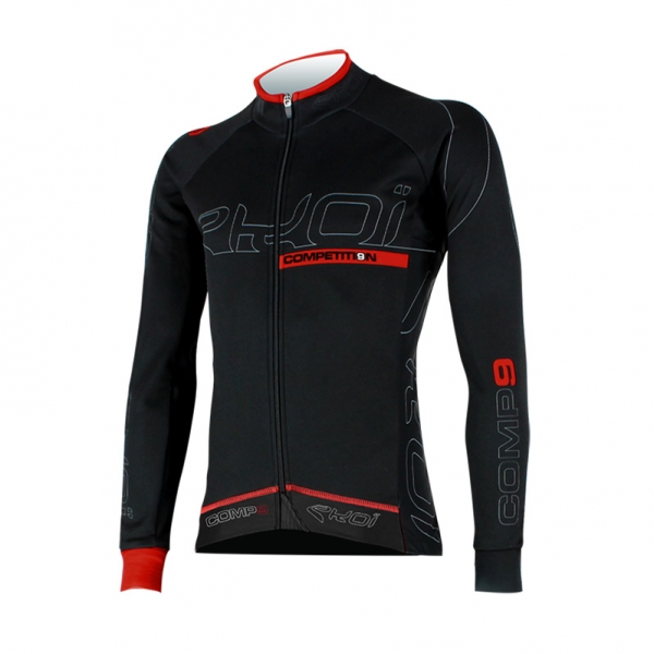 Winter jersey EKOI Competition9 Dry full black