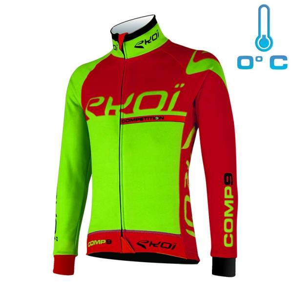 EKOI Competition9 Neon green thermal jacket