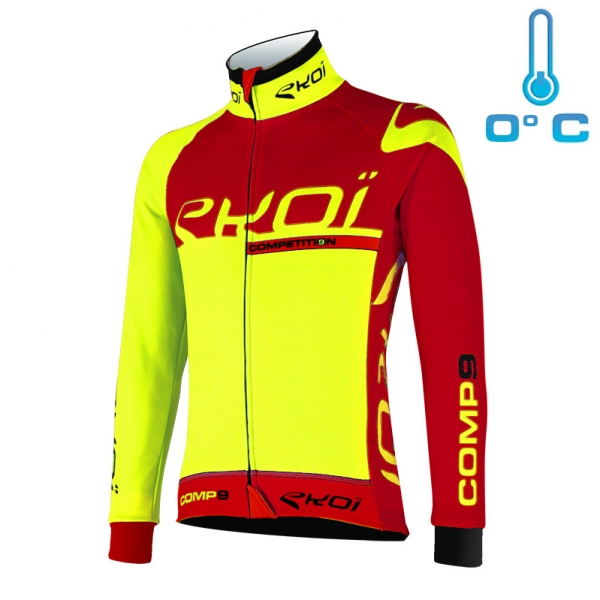 EKOI Competition9 Neon yellow thermal jacket