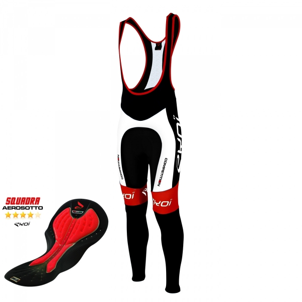 Bib tights EKOI Competition9 Aerosoto White