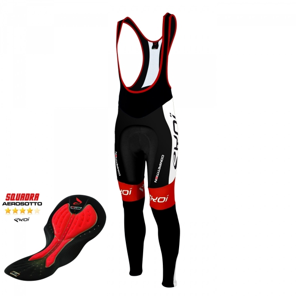 Bib tights EKOI Competition9 Aerosoto black