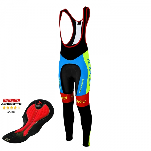 Bib tights EKOI Competition9 Aerosoto Blue