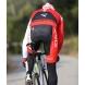 Culotte bike largo EKOI Competition9 Gel rojo