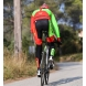 Culotte bike largo EKOI Competition9 Gel verde fluo