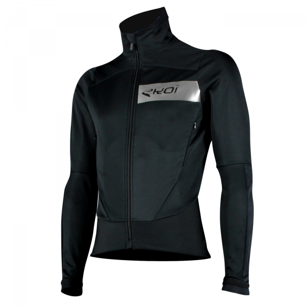 EKOI Black and Chrome Elegance Dry Thermal Jacket