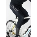 EKOI Elegance black chrome GEL bib tights