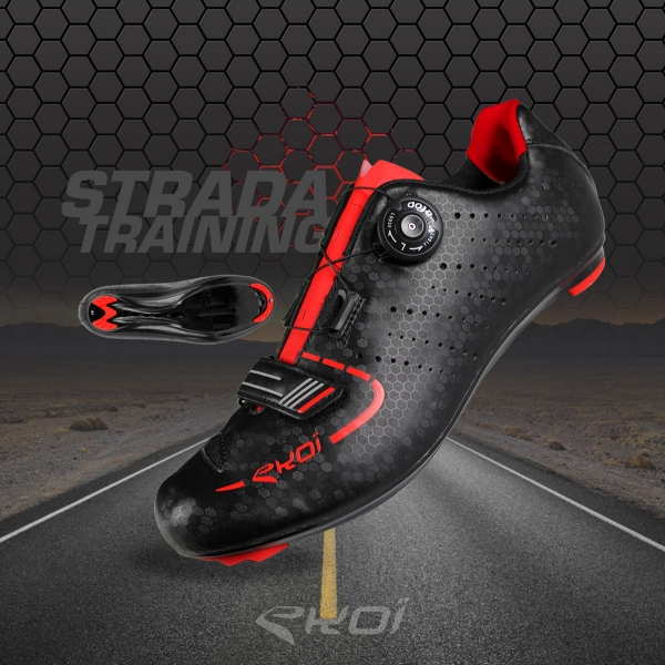 EKOI Strada road cycling training shoes