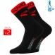 Chaussettes hiver EKOI COMP 2016 noir rouge