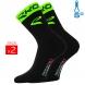 Winter socks EKOI COMP 2016 black neon green EKOI