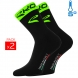 Winter socks EKOI COMP 2016 black neon green EKOI