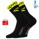 Winter socks EKOI COMP 2016 black neon yellow EKOI