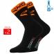 Winter socks EKOI COMP 2016 black neon ORANGE