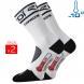 Winter Socks Thermolite EKOI Carbon white 2016