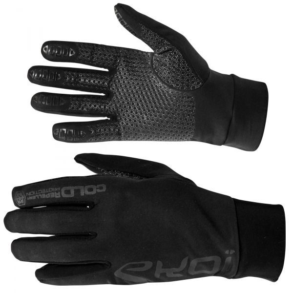 Winter Gloves EKOI Cold Full Black
