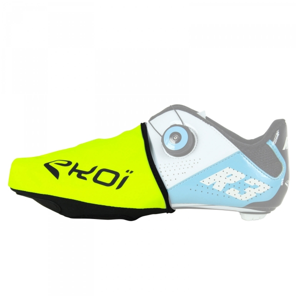 EKOI fluo yellow winter toe covers