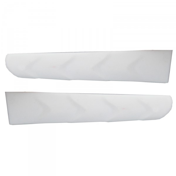 Twin-pack white temple gripper (left & right) replacements for EKOI PERSOEVO sunglasses