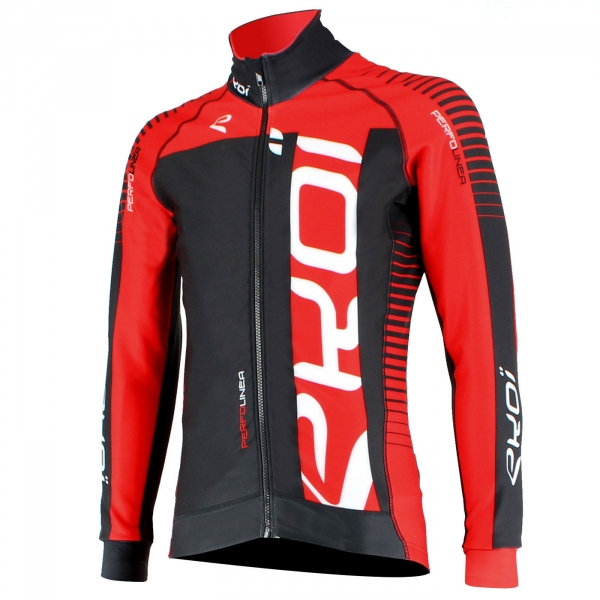 EKOI PERFOLINEA black/red thermal cycling jacket