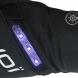 Gants longs vélo EKOI LED Black