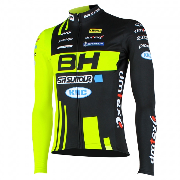 MTB Team BH SUNTOUR LS winter jersey