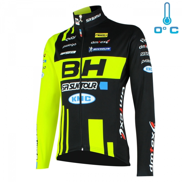 MTB Team BH SUNTOUR thermal jacket