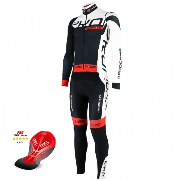 EKOI Aerocomp 2 Dry black winter skinsuit