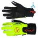 EKOI ALLOY yellow fluo winter cycling gloves