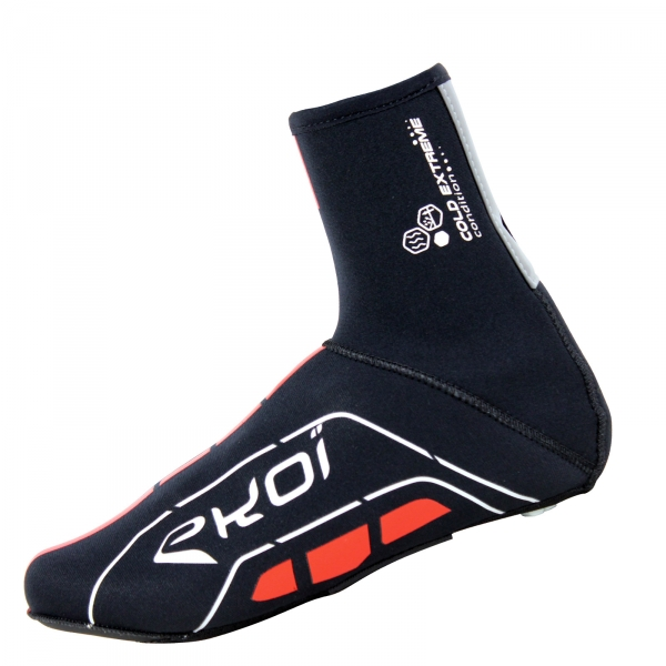 EKOI Cold Extreme 4mm black neoprene overshoes