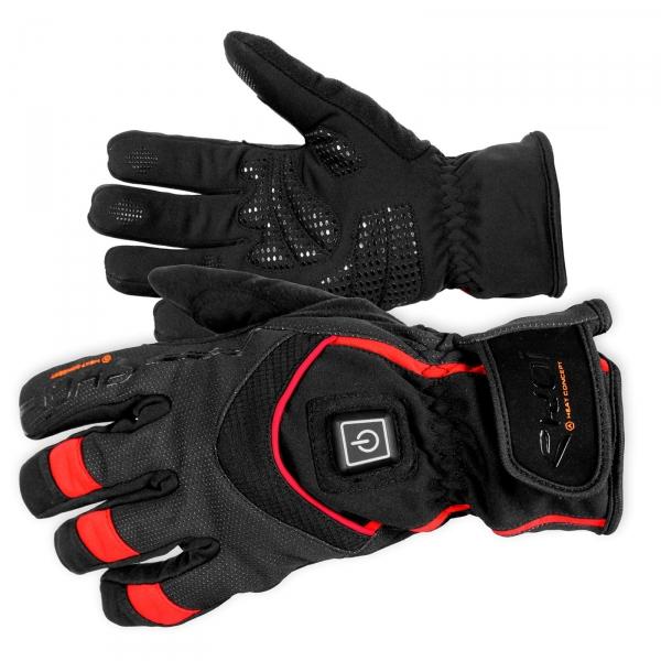 Zimní vyhřívané rukavice EKOI HEAT Concept, černá