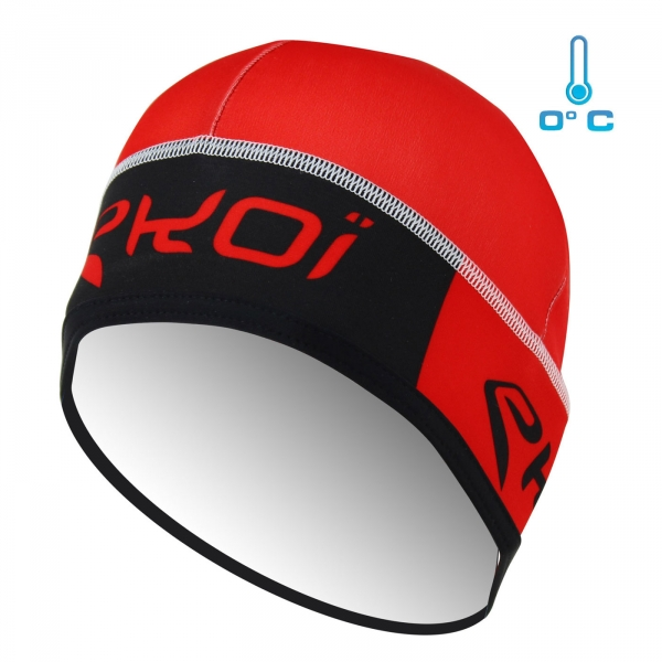 EKOI red Competition9 beanie