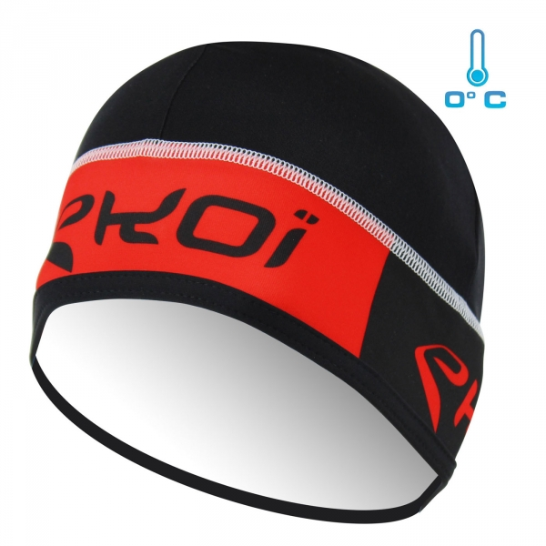 Beanie EKOI Competition9 Black/Red