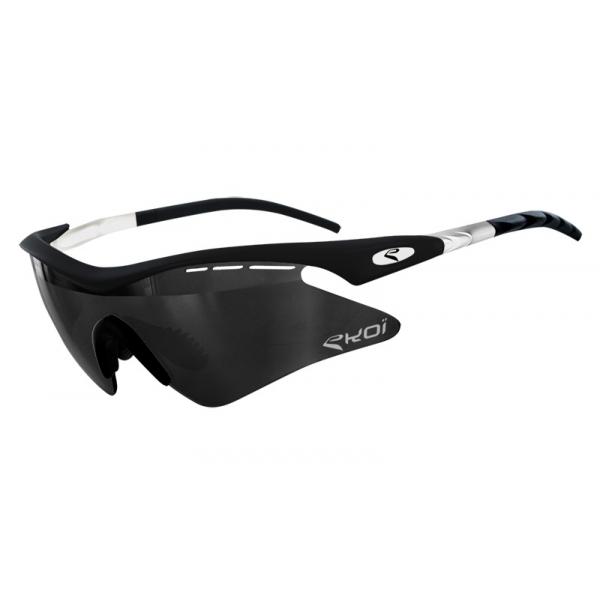 EKOI Super Corsa Limited edition 1 black and white frame and mirror lens sunglasses