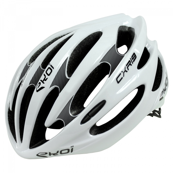 Casque EKOI CXR19 LTD Carbone noir