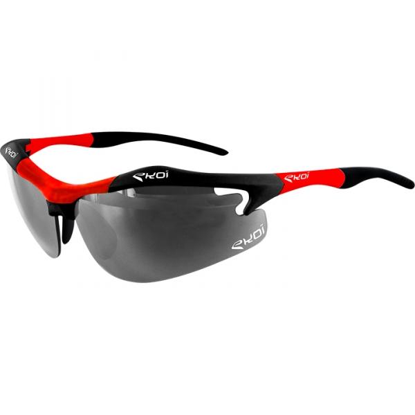 EKOI Diablo Evo Limited edition black and red frame photochromic sunglasses