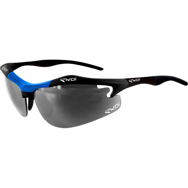 EKOI Diablo Evo Limited edition black and blue frame photochromic sunglasses