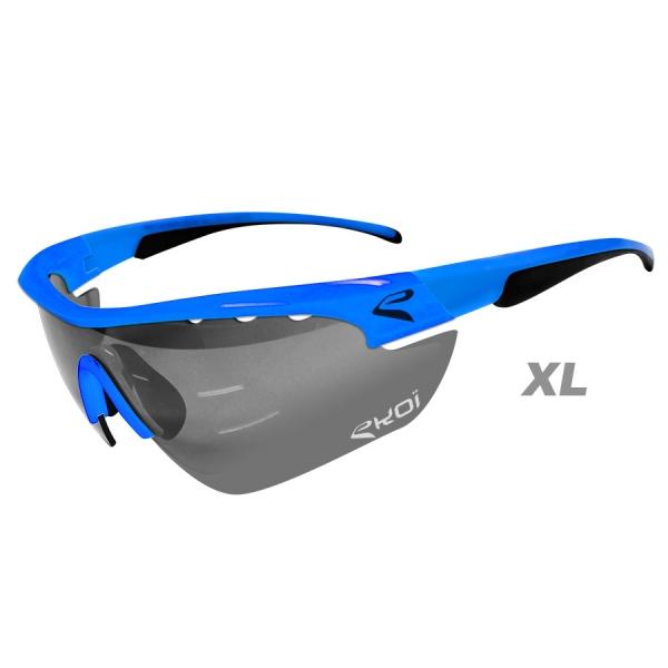 EKOI Multistrata Evo Limited edition XL sky blue frame photochromic sunglasses