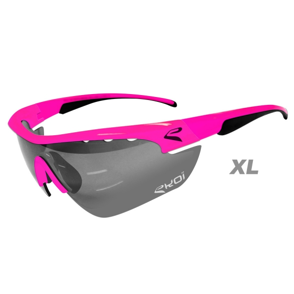 EKOI Multistrata Evo Limited edition XL pink frame photochromic sunglasses